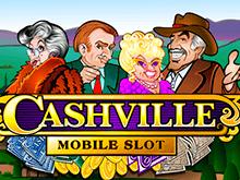 Игровой автомат Веселый игровой автомат Cashvile в клубе Мега Джек — играйте бесплатно